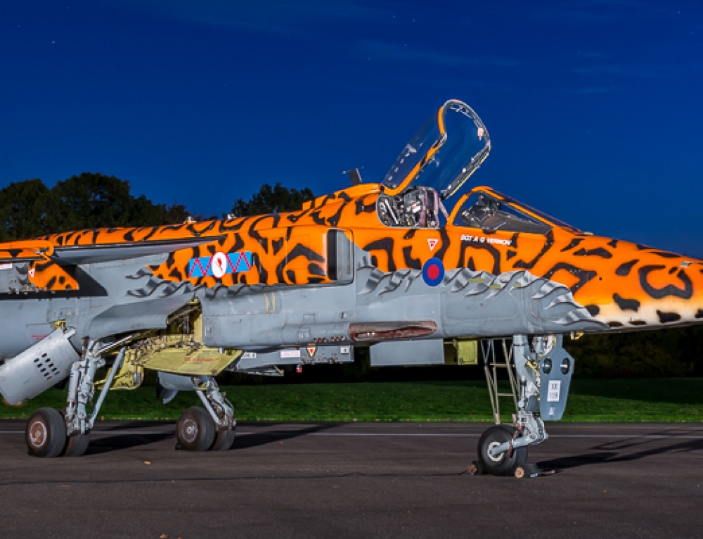 RAF Cosford TLE Jaguar Night Shoot