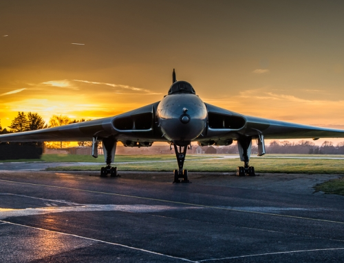 Avro Vulcan B2 XL426 at Southend Airport