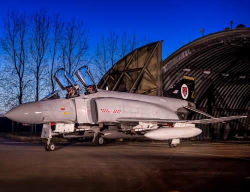 RAF Wattisham Phantom XT914 Shoot